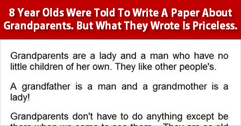 year olds write best paper ever on grandparents viralslot