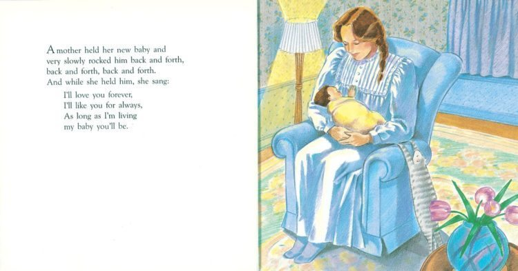 love you forever children's book